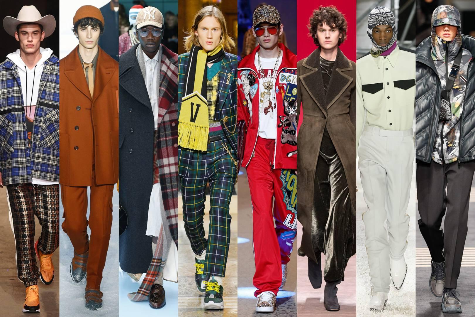 مد لباس مردانه پاییز 2018